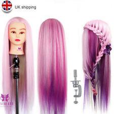 "Neverland Beauty 24"" Fiber Hair Hairdressing Training Head Mannequin +Clamp"