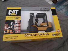 Caterpillar GC25K Lift Truck Diecast 1:25 Norscot #55056, Brand New-Unopened Box
