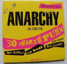 ANARCHY IN THE UK PROMO CD