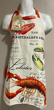 Michel Design Works Cotton Chef's Apron Lobster Seafood APR136 ~ NEW W/ Tags