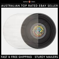 "100 X Plastic Record Inner Sleeves – Round Bottom 40 Micron for 12"" Vinyl LP's"