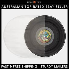 "100 X Plastic Record Inner Sleeves – Round Bottom 40 Micron for 12"" Vinyl LP's"