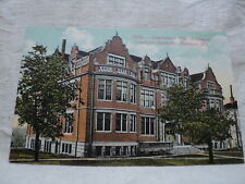 APPLETON WI Wisconsin Lawrence University Hall of Science early 1900's Postcard