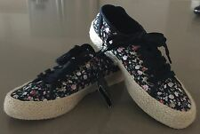 """New With Tags Floral RUBI """"Steffi Espadrille Sneaker"""" Size 37"""