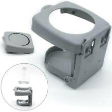 Car Auto Folding Beverage Drink Cup Bottle Holder Stand Mount Gray Universal