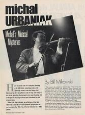 Michal Urbaniak Downbeat Clipping TRANSPARENT