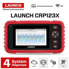 2020 LAUNCH X431 CRP123X OBD2 Diagnostic Scanner Car Fault Code Reader 4 System