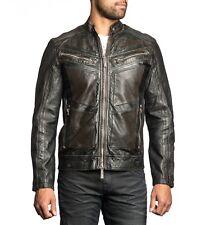 Affliction LIVE FAST FIRE HORSE - Moto Leather Biker Jacket NEW Medium