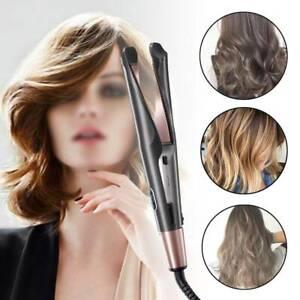 Ceramic Hair Straightener And Curling Iron 2 in1 Hair Curler Tool Professional
