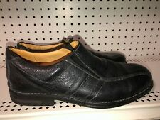 Sandro Moscoloni Mens Leather Casual Dress Shoes Oxfords Size 12 D Black Brazil