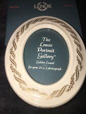 NEW~Lenox Golden Laurel Vintage Oval Frame~Original Box~Collectors~NIB