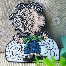 Charlie Brown Snoopy Friend Cartoon Appliques Embroidery Iron on Patch