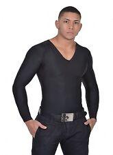 Men Body Slimming Tummy Shaper Belly Underwear shapewear Compression T-shirt