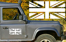 BANDIERA Union Jack Adesivo GB, LUPO, Esercito LAND ROVER, 30cm x 15cm x 2