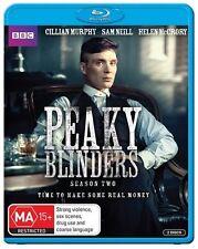 Peaky Blinders : Season 2 (Blu-ray, 2015, 2-Disc Set)