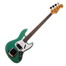 SX ELECTRIC BASS JAZZ STYLE IN VINTAGE GREEN - WITH GIG BAG - SPECIAL PRICE