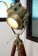 ARRI 40's Vintage Theater Stage Nautical Spotlight - Art Deco Industrial Lamp
