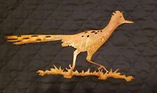 Rusty Roadrunner wall art garden art southwestern 18 gauge steel