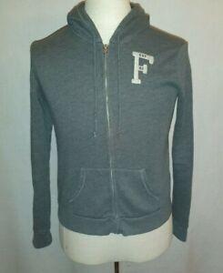 Abercrombie & Fitch Kapuzenjacke Jacke Herren Grau Größe M