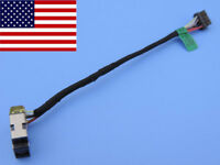 Original DC power jack in cable for HP Touchsmart 15-d075nr 15-d076nr 15-d079nr