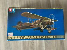 Tamiya 61068 Fairey swordfish Mk.I 1/48