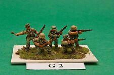 SGTS MESS G02 1/72 Diecast WWII German Infantry-Riflemen Firing+ (5 Figures)