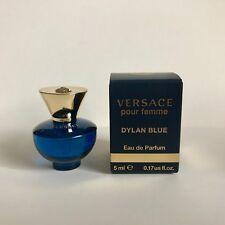 Deluxe Miniature Versace Pour Femme Dylan Blue Eau de Parfum 5ml