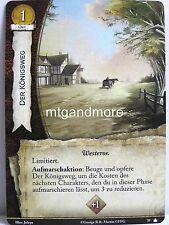 A Game of Thrones 2.0 LCG - 1x #039 Der Königsweg - Base Set - Second Edition