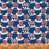 CLOSEOUT! Honor and Glory by Windham Fabrics  - Blue Hats