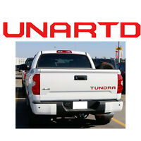 Red Rear Trunk Tailgate Insert Letter Vinyl Sticker For Toyota Tundra 2014-up