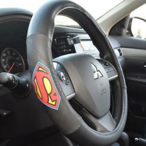"""DC Comics Superman Steering Wheel Cover Protector Universal Fit 14.5-15.5"""""""
