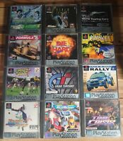 Job Lot of PS1 Playstation One Platinum Games 12 Total Most Complete Good Mix