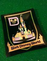 Walt Disney World Cinderella Castle Vintage Houze Art Tray Ashtray Smoked Glass