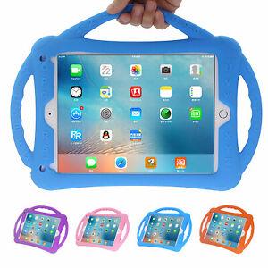 Kids EVA Foam Case Handle Stand For iPad 234 5th 6th 9.7 Pro 10.5 Air Mini 12345