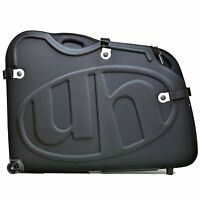 ULTIMATE QUALITY EVA HARD CASE AIRPORT BIKE TRAVEL BOX STRONG CYCLE CASE BLACK