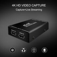 4K HDMI Video Capture Card Recording Box OBS vMix Wirecast Phone Live Streaming