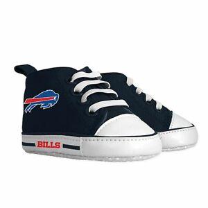 Buffalo Bills Baby Shoes, NFL Pre-Walker Hightops High Tops