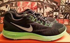 Nike LunarGlide + 4 OG SQ/RFLCT SLVER-ELCTRC GRN 531986-303 Size 12