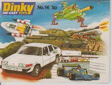 CATALOGUE  CATALOGO DINKY TOYS N°14 1978  ORIGINAL NEUF ANGLAIS