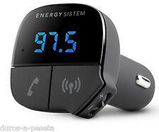 Emisor FM Energy Sistem Car Transmitter Music Bluetooth Manos Libres para Coche
