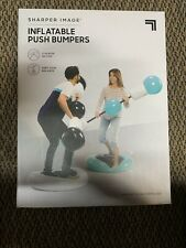 Sharper Image Inflatable Push Bumpers New