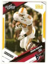 ARIAN FOSTER 2009 Score Gold Zone #309 RC Rookie Serial #'d 50