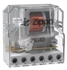 Rele interruttore impulsi 230V passo passo ZIP 25040 tipo finder 26018230 26.01