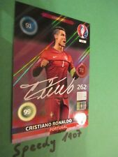 Panini Adrenalyn Euro 2016 EM 16 Signature Ronaldo Portugal not Madrid #276