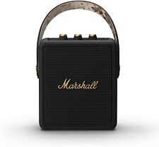 Marshall Stockwell II Tragbarer Bluetooth 5.0 IPX4 Lautsprecher schwarz Messing