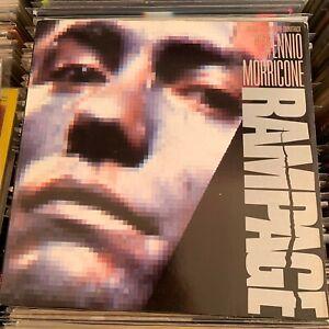 """Ennio Morricone """"Rampage"""" movie soundtrack lp vinyl original italy"""