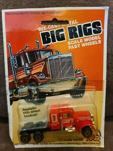 1981 ZEE TOYS ZYLMEX BIG RIGS RED CALIFORNIA HAULER TRUCK 1:64 MIP NEW HO Scale