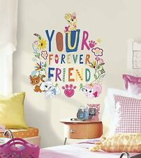 DISNEY PRINCESS PALACE PETS Wall Decals Room Decor Stickers FOREVER FRIEND Quote