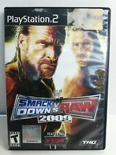 WWE SmackDown vs. Raw 2009 Featuring ECW (Sony PlayStation 2, 2008) - PS2