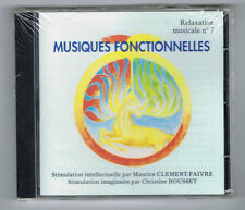 MUSIQUES FONCTIONNELLES - RELAXATION MUSICALE N° 7 - NEUF NEW NEU